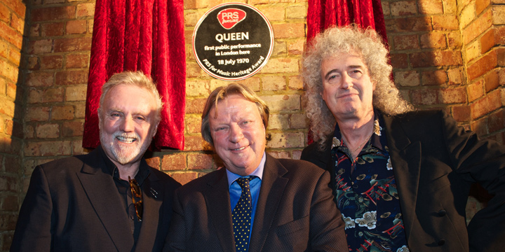 prs for Music honours Queen with a Heritage Award