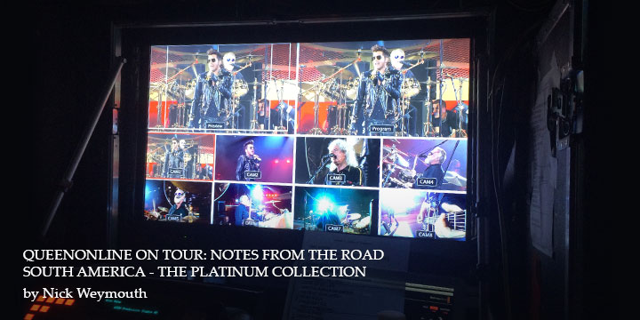 QueenOnline on Tour: Notes From The Road South America - The Platinum Collection 20151028113151