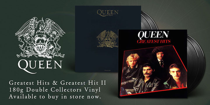 Press Release: Greatest Hits and Greatest Hits II Re-released on Vinyl - November 18th 20161108114004