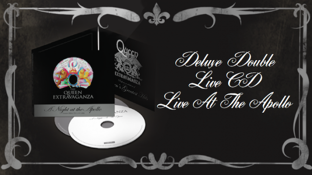 Order Now: The Queen Extravaganza Live Album - 'A Night at The Apollo 20161120223529