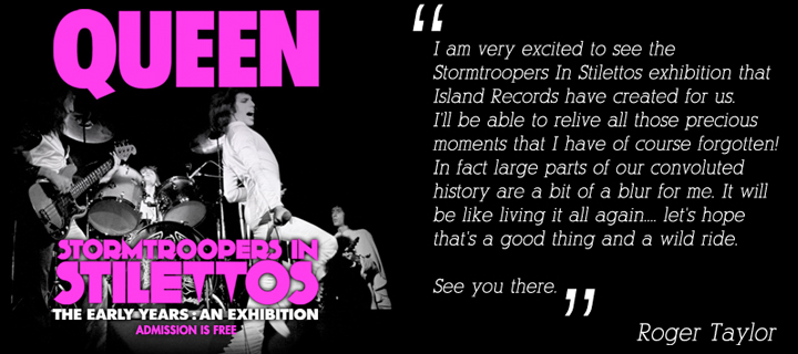 tormtroopers in Stilettos: Queen, The Early Years